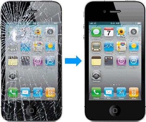 Et your iphone 4 or iphone 4s screen replaced for only 60 dollars