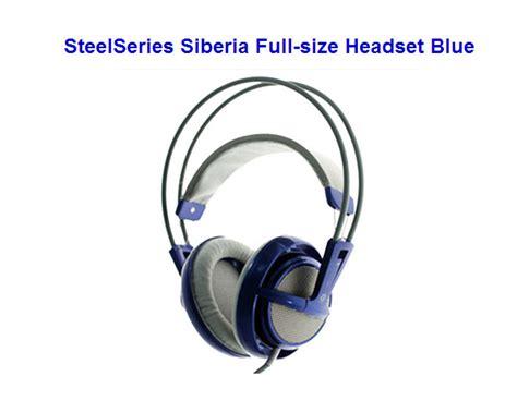 Headset Steelseries Siberia V1 ราคา steelseries siberia v1 size blue ร นล าส ด ร นใหม notebookspec