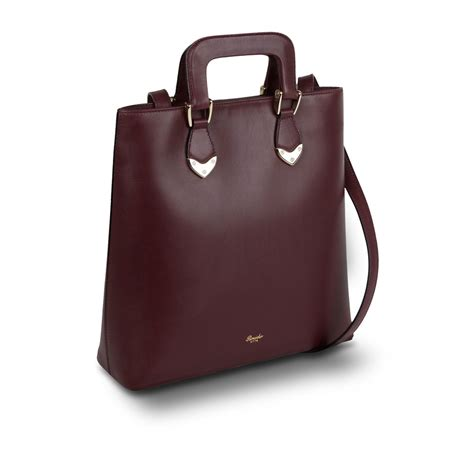 pineider heritage leather tote bag womens