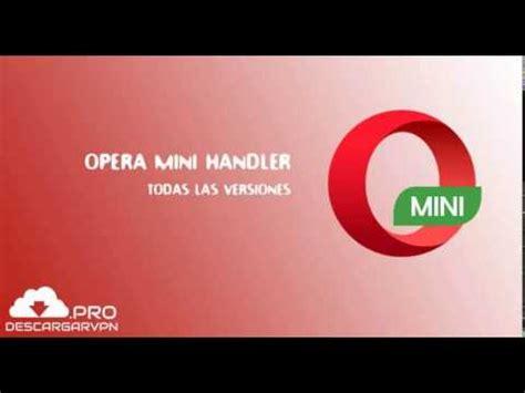 operamini handler apk descargar opera mini handler apk todas las versiones