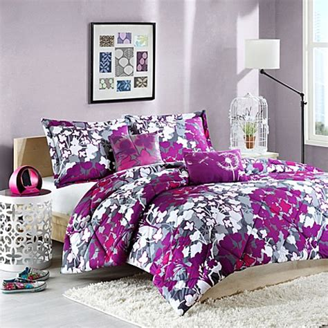 Buy Cozy Soft 174 Amy Reversible Twin Twin Xl Comforter Set Bed Bath And Beyond Xl