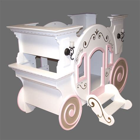 Princess Carriage Bunk Bed Cinderella Carriage Bunk Bed By Tanglewood Design