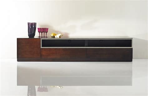 Kitchen Cabinets Maryland by Dark Wood Tone Entertainment Tv Stand With Glass Top