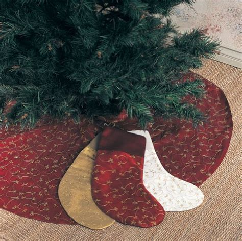 elegant christmas tree skirts decorseasonal shop for seasonal decor
