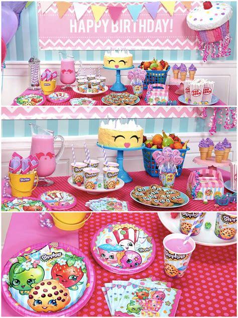 themes party birthday shopkins birthday party planning ideas supplies theme