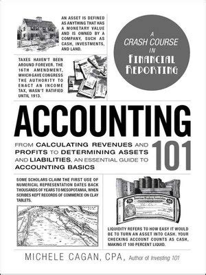 Mba Financial Accounting Primer Se Libby by Accounting 101 By Michele Cagan 183 Overdrive Rakuten