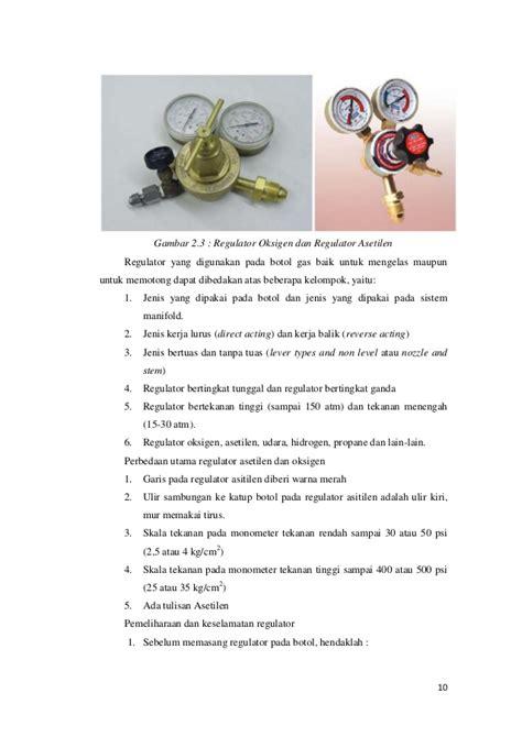 Botol Oksigen Las laporan praktikum pengelasan