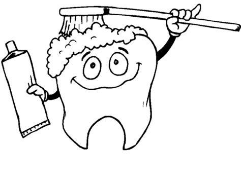 Free Printable Dental Coloring Pages tooth coloring pages printable coloring home