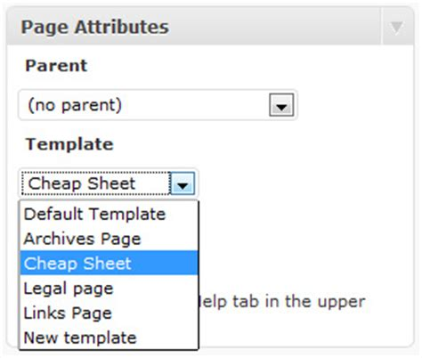custom page template how to create and use custom page templates in
