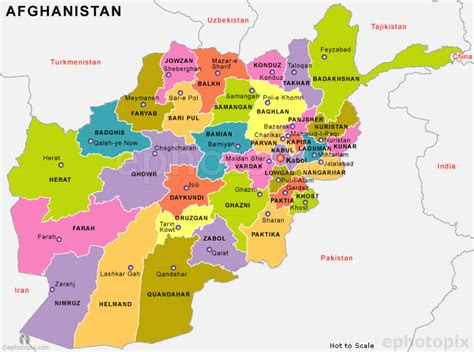 political map of afghanistan afghanistan political map political map of afghanistan