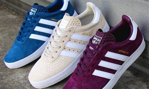 the adidas 350 originated as a japanese exclusive tennis trainer 80 s casual