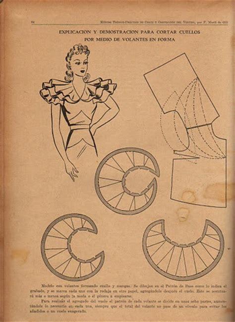 pattern making ruffles pin by ida de la rosa spence on vintage patterns pinterest