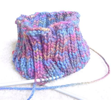 how to knit ribbing on circular needles circular knitting