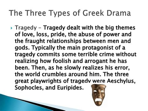 tragic themes in western literature themes of greek tragic literature include elements of