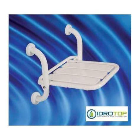 seggiolino per doccia seggiolino doccia ribaltabile da muro hh 555 sefb acciaio inox