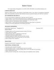 restaurant server resume sle 2