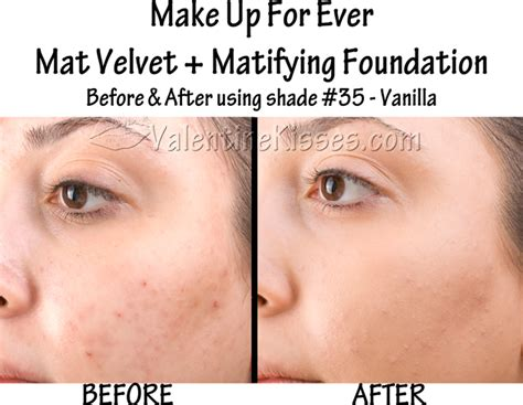 Makeup Forever Mat Velvet by Kisses Make Up For Mat Velvet Matifying