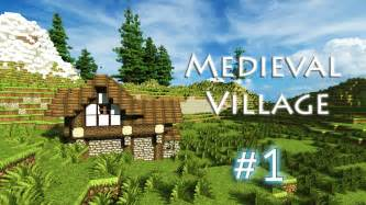 House Blueprint App minecraft let s build a medieval village part 1 youtube