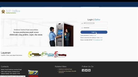 tutorial pengisian e spt pph 23 tutorial e filing 2016 pengisian spt tahunan pph orang