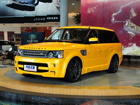 land rover yellow yellow range rover sport overfinch china edition