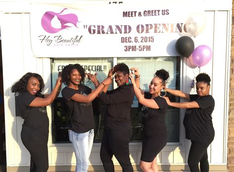 best hair salon for thin hair in nj hey beautiful hair salon celebrates grand opening in