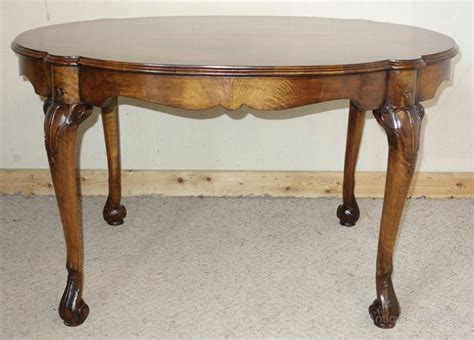 how tall are coffee tables walnut tall coffee table centre table antiques atlas