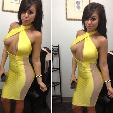 Dila 4 Blouse By Apple dila meng summer new sleeveless halter dress package hip low cut dress cross on luulla