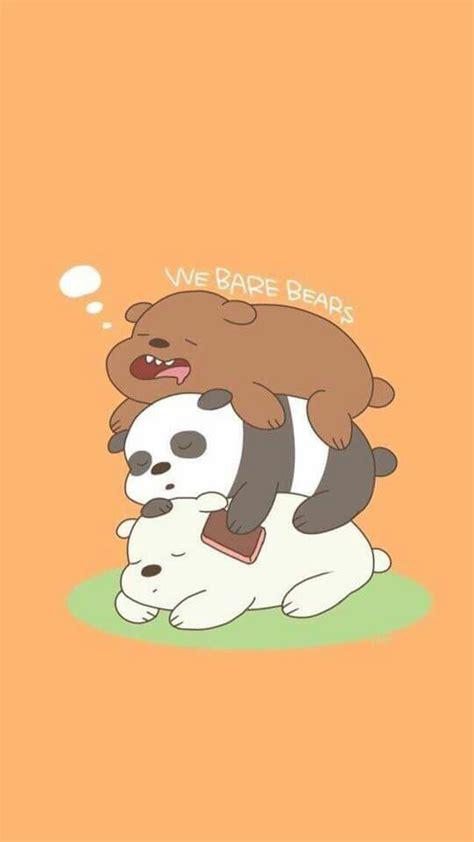 Stiker We Bare Bears Polar Lucu Imut pin by pitsinee bunlangkarn on webarebears bare bears bears and wallpaper
