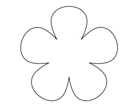 printable daisy stencils flower pattern use the printable outline for crafts
