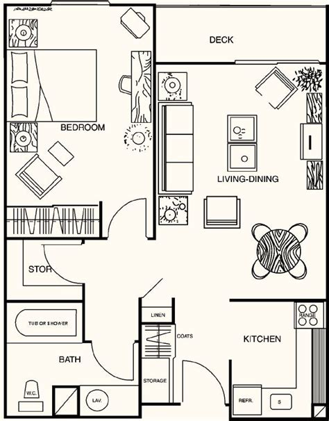 1 bedroom guest house floor plans 17 best images about 20 x 40 plans on house