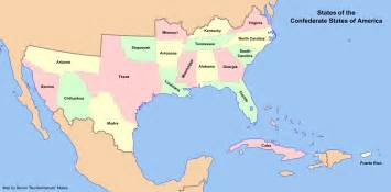 states of the confederate states two americas