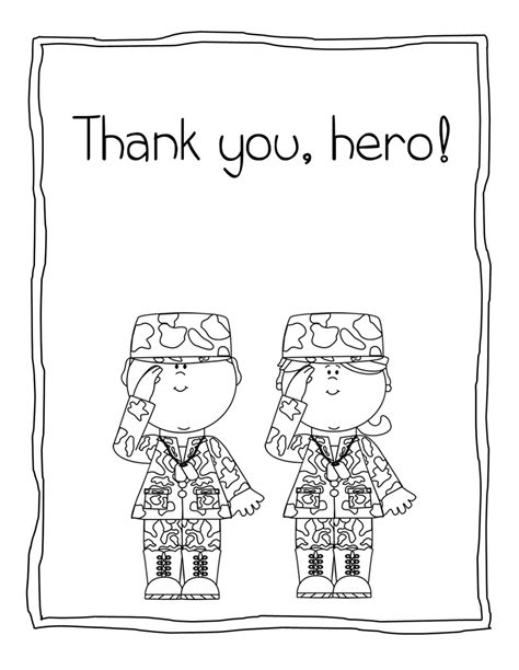 thank you veterans coloring page thank you soldier coloring pages coloring pages