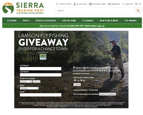 Outdoor Gear Giveaway - lamson giveaway at sierra trading post outdoor gear steals