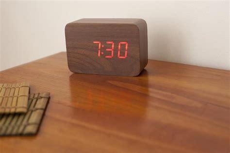image  alarm clock   wooden table freebiephotography