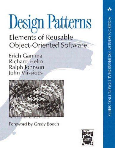 design pattern gamma design patterns by erich gamma reviews discussion