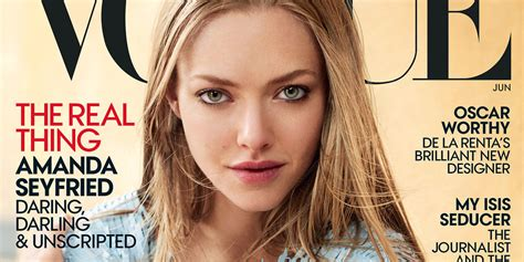 amanda seyfried vogue amanda seyfried s vogue cover is absolutely stunning