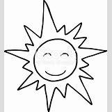 Happy Face Sun Black And White | 397 x 433 jpeg 46kB