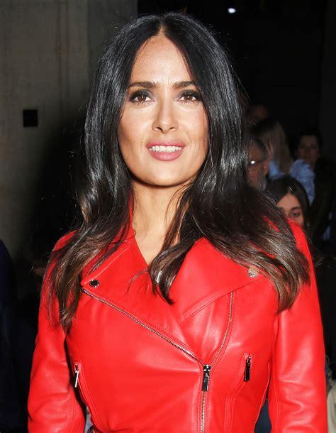 Fashion Salma salma hayek goes for fashion week pics