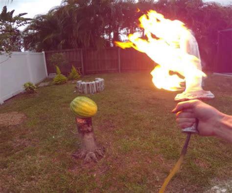 backyard scientist fire