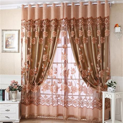 Brown Valance For Windows Ideas Brown Sheer Scarf Valance Window Treatments Design Ideas