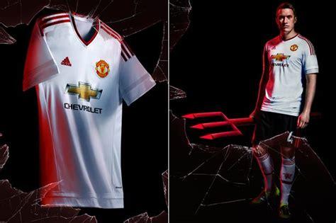 Manchester United 2015 16 Awaykit 21 Ander Herrera Printing manchester united new away kit adidas reveal devils 2015 16 ahead of aston villa