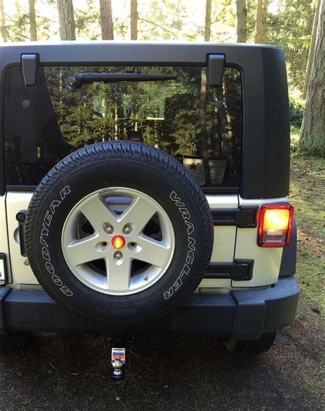 jeep jk third brake light 3rd brake light led mod my diy jeep jk led