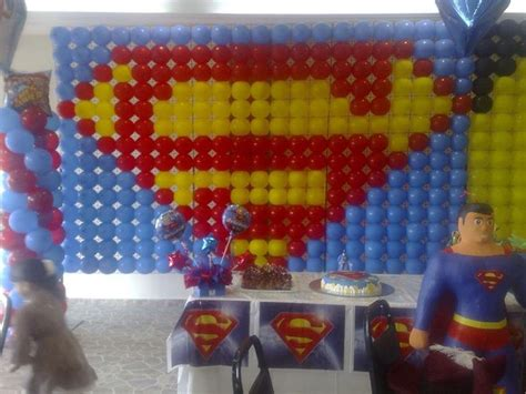 Superman Decorations by Superman Balloon Decoration Balloons Superheros