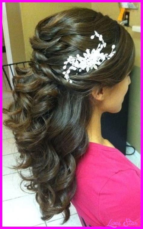 Bridal Hair Half Updo by Wedding Hairstyles Half Updos Livesstar
