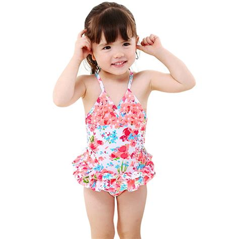 cute toddler girl bathing suits dailiwei 1 8t baby girls swimwear toddler cute floral