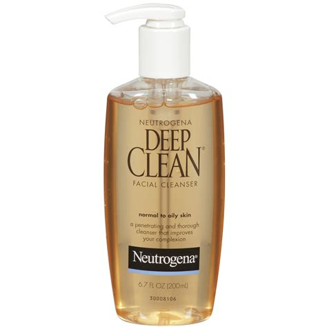 deep clean neutrogena deep clean face wash