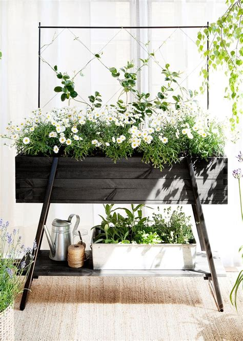 window box stand window flower box stands woodworking projects plans