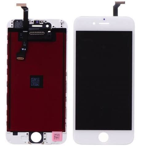 Lcd Iphone 6 Plus Replika white iphone 6 plus 5 5 quot lcd display touch screen digitizer replacement parts assembly grade r