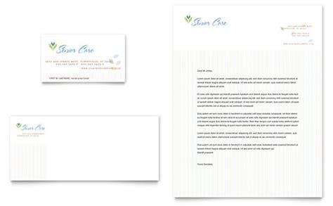 Elder Care & Nursing Home Brochure Template   Word & Publisher