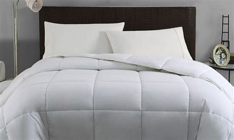 thick down alternative comforter down alternative comforter deal of the day groupon